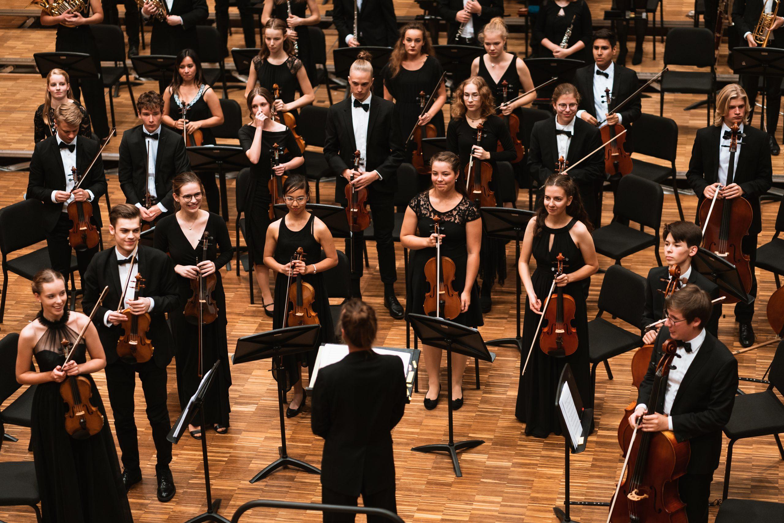 Kooperationsprojekt des Niedersächsischen Jugendsinfonieorchesters